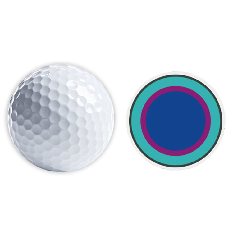Hot Sale Promotional Use Custom Color OEM Golf Ball Surlyn 5 Pieces Match Ball