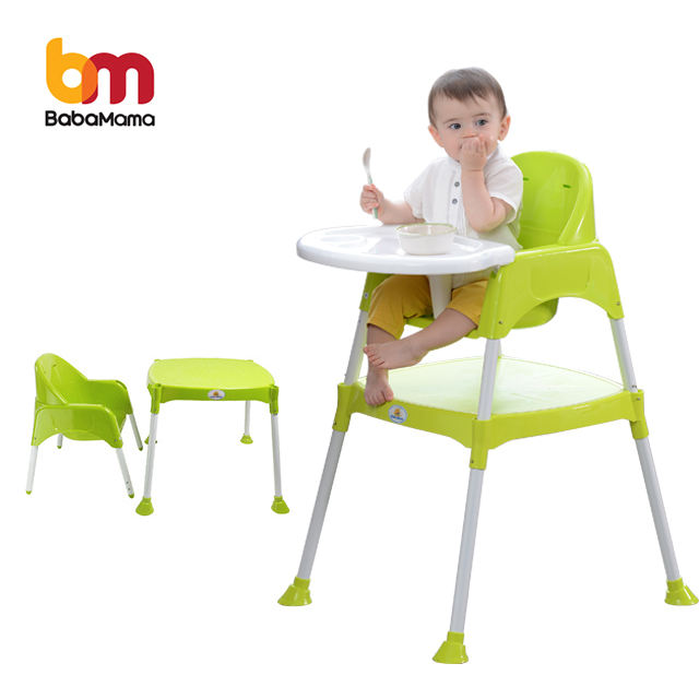 Alibaba china promotional top quality pp material baby feeding chair for dinner