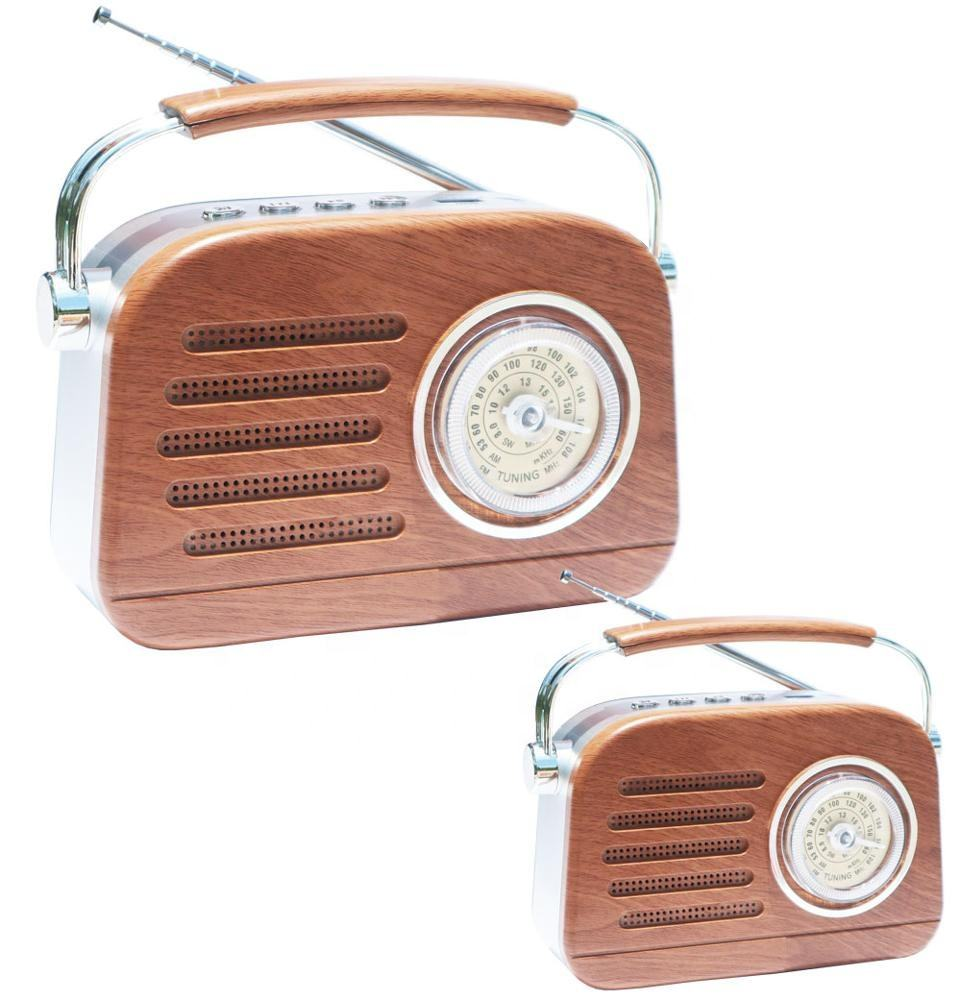 portable home radio with dynamic speaker am fm radio