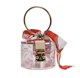 Summer Scarves Clear Bucket Bag Young Girls Ring Handle Transparent Fashion Handbag 2020