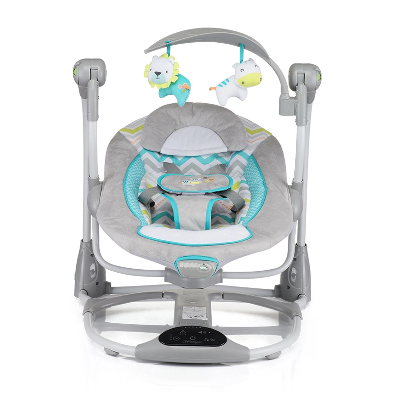 Factory Price Delicate 2020 Latest Product 0-11Kg Load Range Baby Cradle Swing Bed With Music