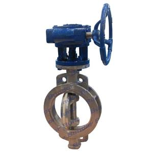 Bundor metal hard seated butterfly valve handles stainless steel butterfly valve