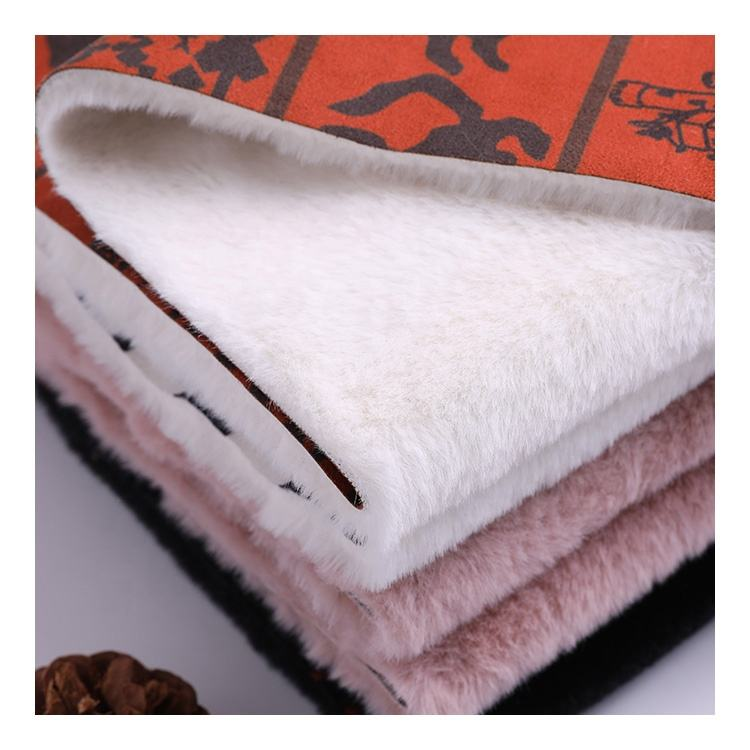 Per Meter Making Price Material Soft Fleece Velour Minky Plush Toy Fabric