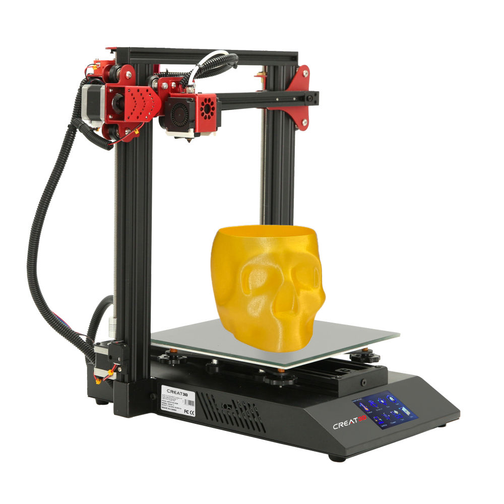 CREAT3D Fordable 3D Creat-2 Printer 235*235*250mm Cópia do Currículo 3D Máquina Impressora