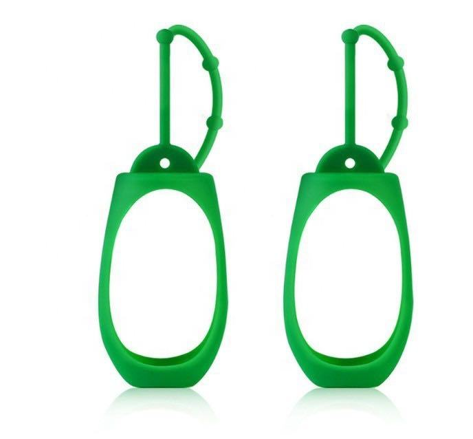 Promotion gift cheap portable pocket hanging 50ml dettol hand sanitizer holder case
