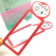 wallet pocket credit card aspheric magnifier
