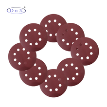 Factory Production 5 Inch Aluminium Oxide sanding disc for woods
