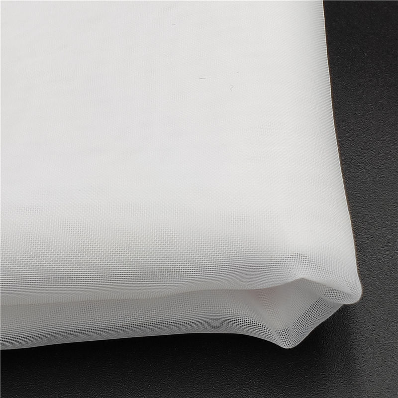 NFPA701 fire resistant polyester snow sheer/voile curtain fabric