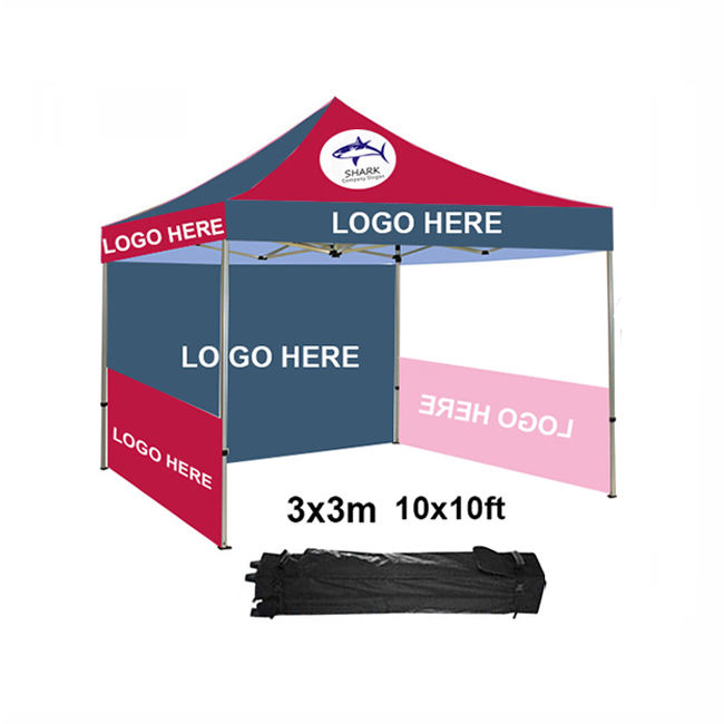 RTS shop 3x3 10x10 ft FREE SHIPPING PDYEAR promotion advertising custom pop up folding outdoor event canopy tent