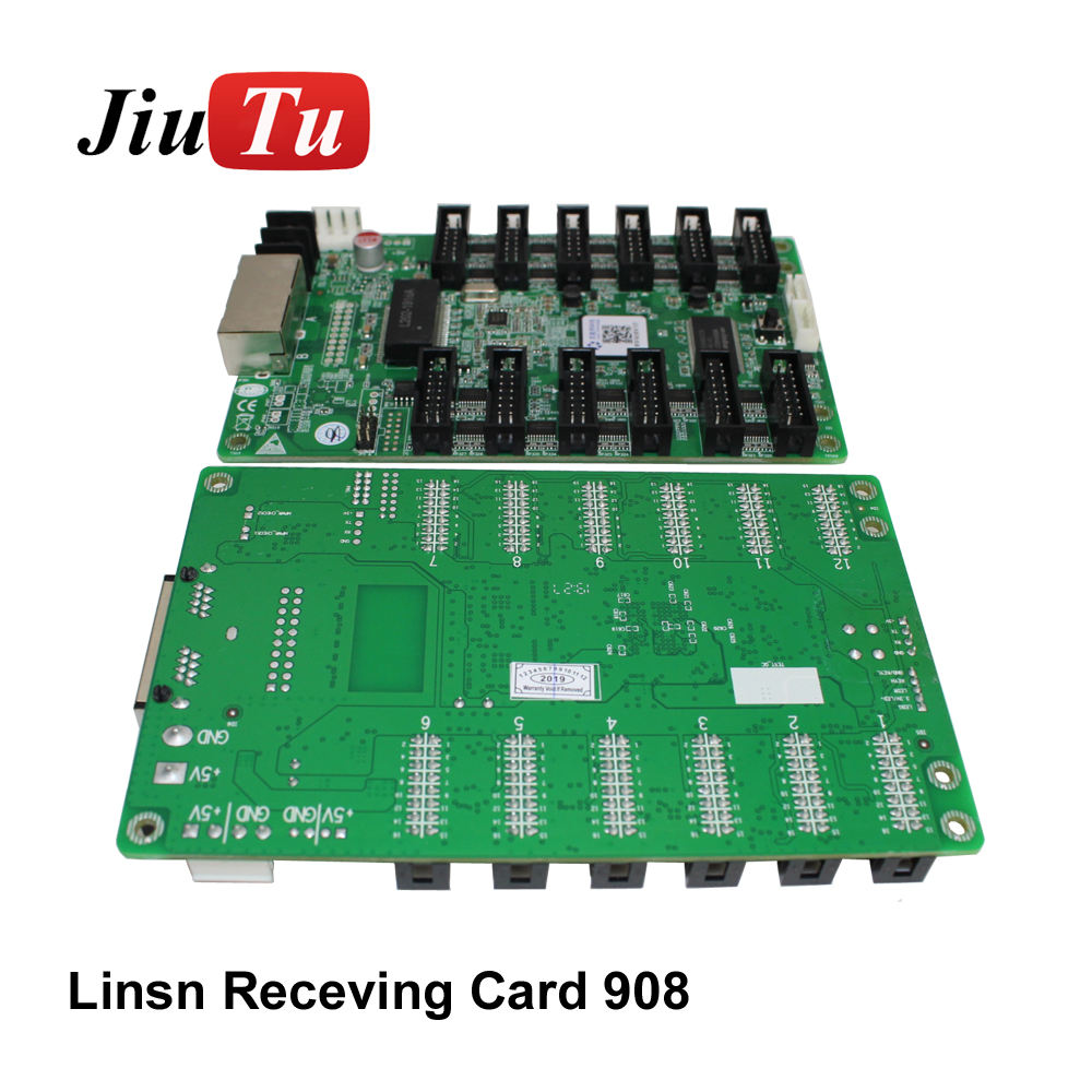 Ce Rohs Fcc Linsn 908 Receiving Card LED Display Controller Synchronization Control System