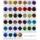 Thriving Gems Hot Selling Wholesale Synthetic Gemstone White Cubic Zirconia