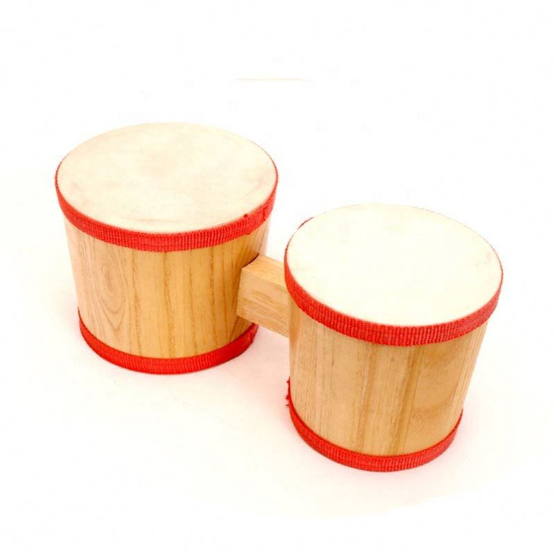Fashionable [ Gift For ] Fashion Gift For Baby/children China Supplier Percussion Sheepskin Bongo Drum