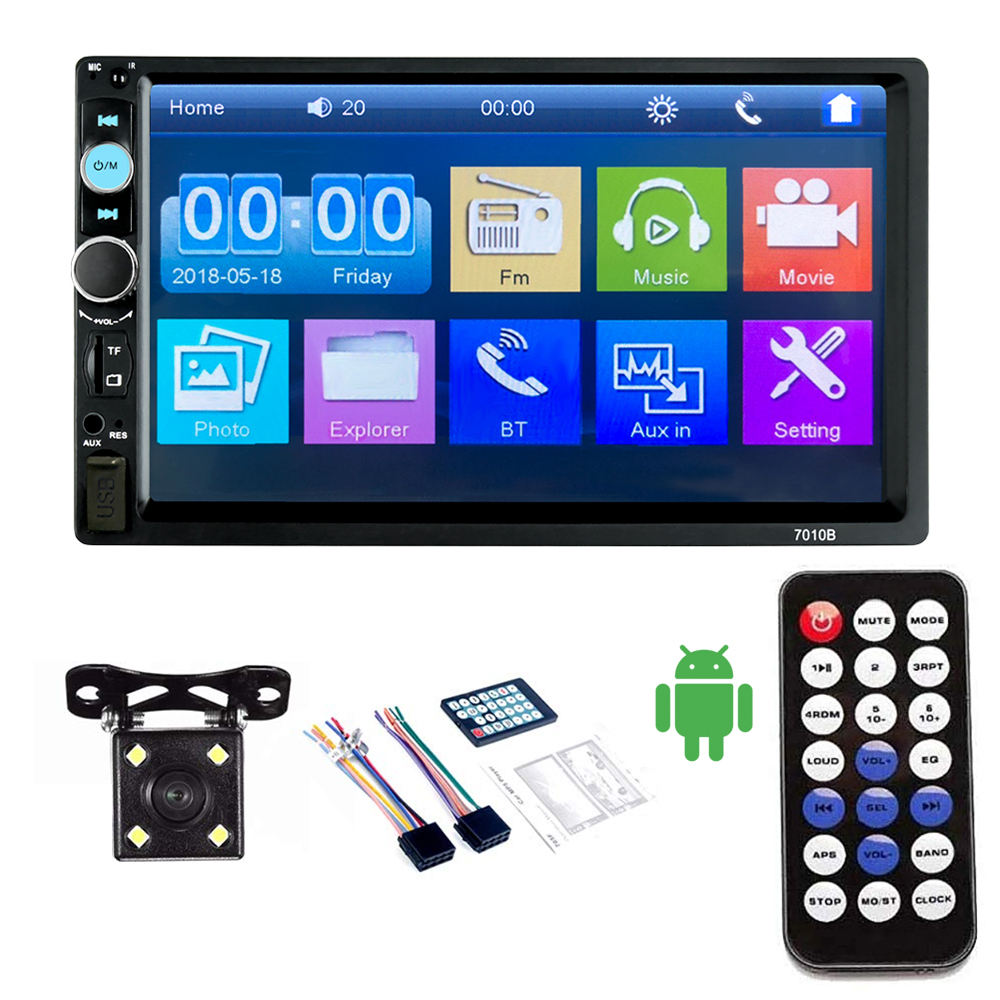 Auto 2din video-player 7 zoll Touch Screen auto media Player MP5 auto radio