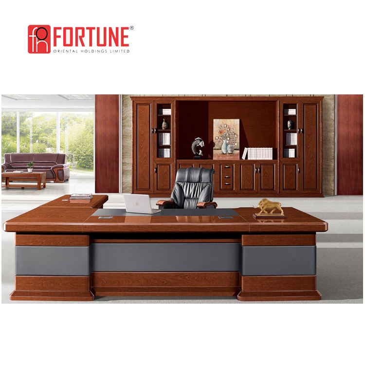 Leather Top Design Manager Executive Manager Office Desk