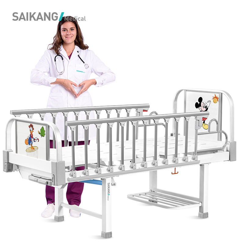 CT2k Medical Children Hospital Steel Double Bed Designs For Sale