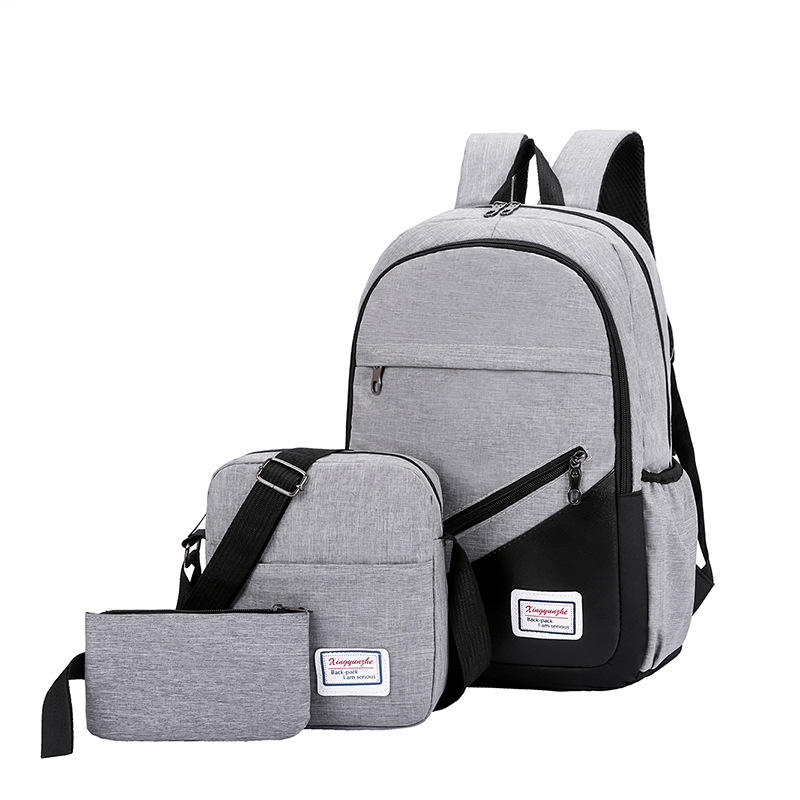 Cheap Back To School Bag Set With 3 Piece For University Students