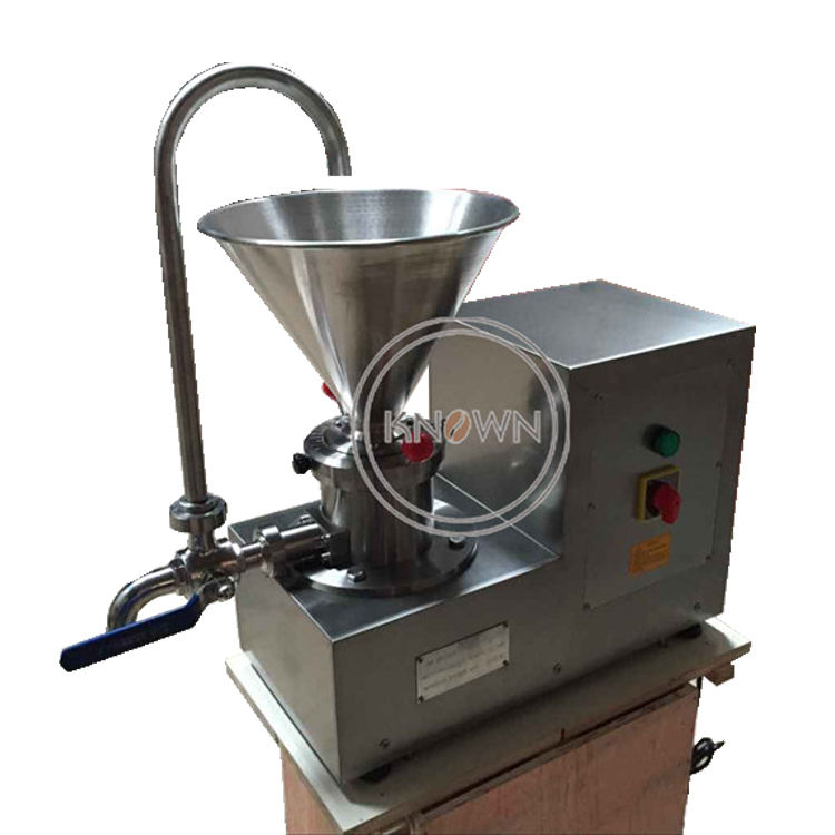 Stainless steel Peanut Butter Making Machine Sesame Chili Sauce Paste Grinding Machine Commercial Colloid Mill For Food Price