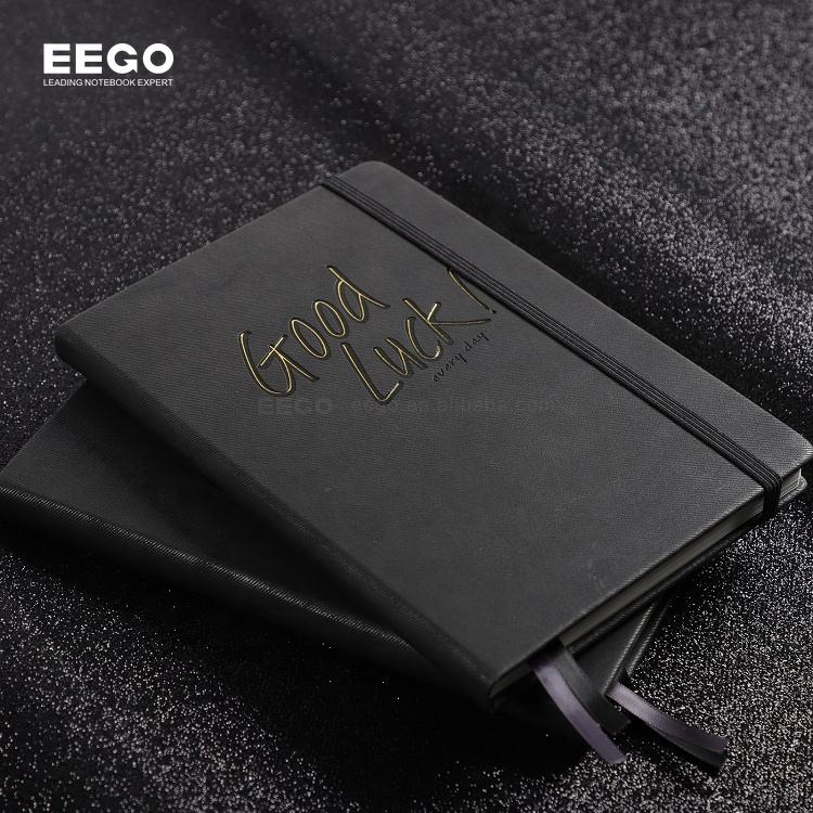 Hot Deal Printed Note Books High Quality Personalized Logo Leather Custom A5 Dotted Pu Cover Book With Pen Holder