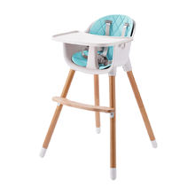 Portable adjustable plastic&wood baby booster chair /baby highchair in baby chairs