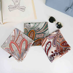 Factory Offer Professional Designer Discount Silk Scarf For Ladies