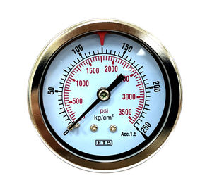 Pressure Gauge Pressure Gauge Different High-pressure Metal Cases Pressure Gauge