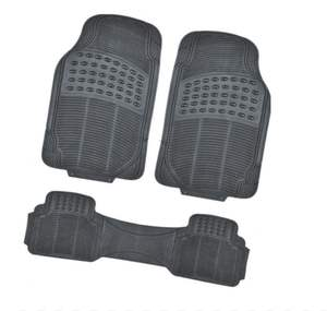 3 piece set pvc car mat hot sale foot mat for universal car wholesale car floor mats