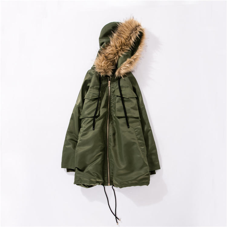 2021 New Model Custom Padded Coat Professional China Supplier Army Green Padded Coat