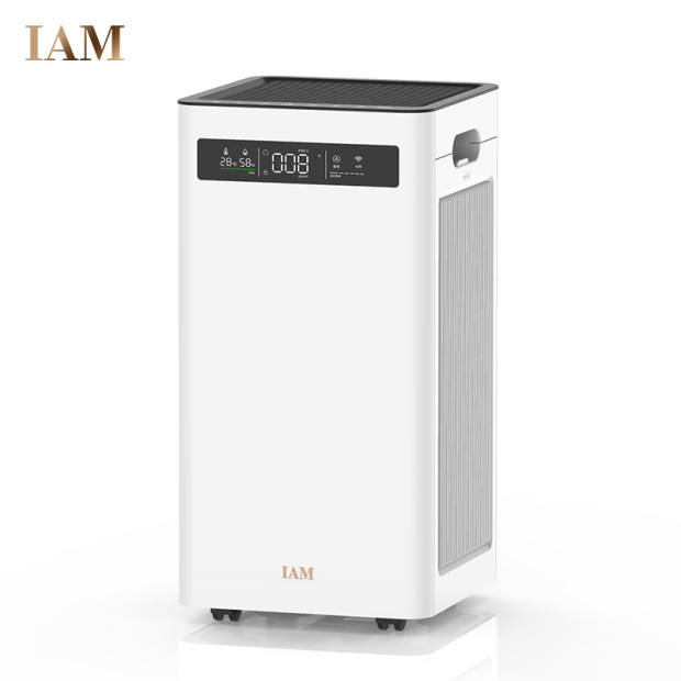 IAM 3 in 1 Large Room Air Cleaner Deodorizer for Allergies Pets Asthma Smokers Odors Eliminates Pet Hair Air Purifier