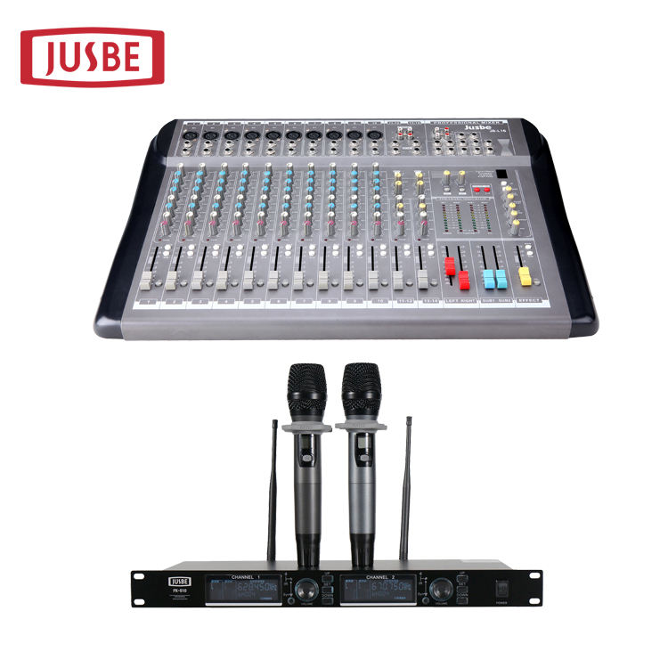 Best Price Pro Audio 16 Channel JB-L16 USB Karaoke Power Sound Mixer