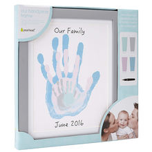 Creative Gift Set Baby Footprint Products Magnetic Poster Hanger Photo Props Picture Painting Frames