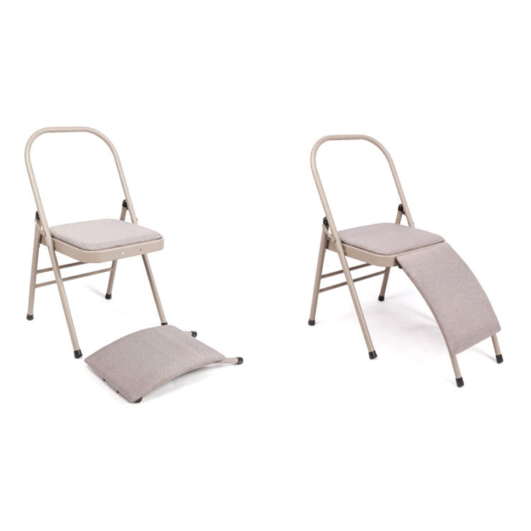 Supporting Equipment Daoen Chair, Eco Friendly Yoga Silicone Sports Floor Chair Yoga Folding Chair Ce Certification