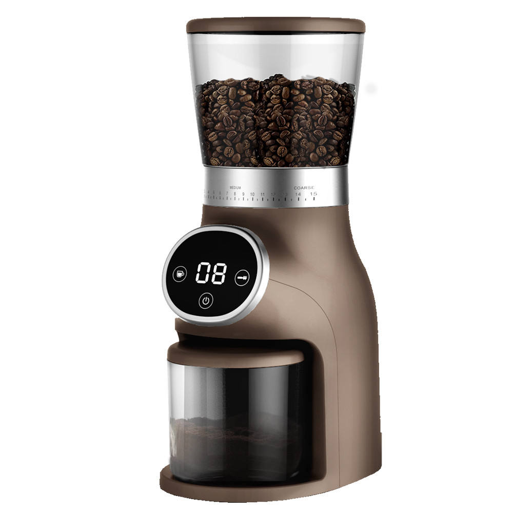 New designed conical burr Coffee grinding machine Coffee bean grinder for house kitchen