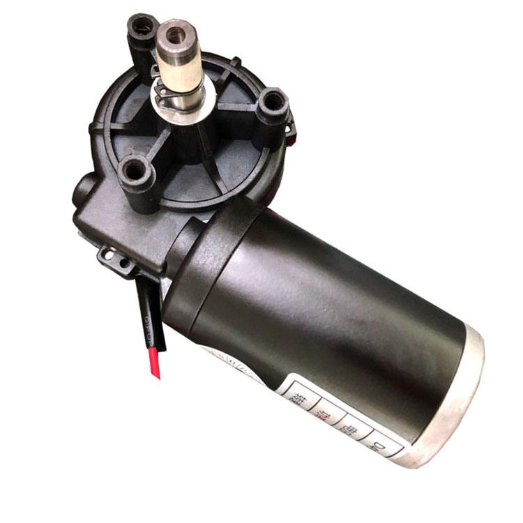 49mm Plastic Worm Gear Motor 12V DC in Industrial Electric Gearmotor for Sale
