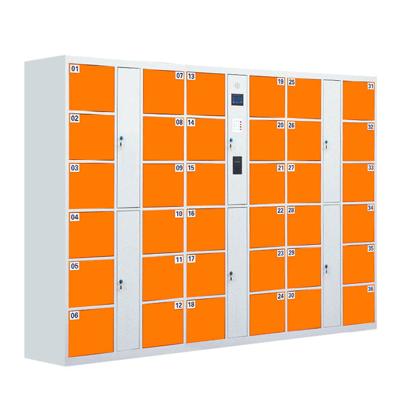 Customized 24 Doors Gym Parcel Electronic Laundry Smart Metal Locker