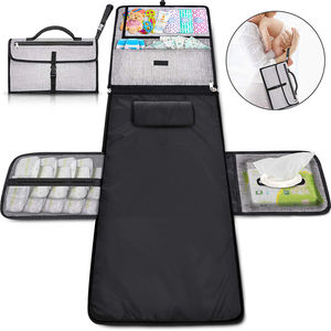 Extra Large Baby and Infant Portable Diaper Changing Pad Clutch Travel Changer Station Kit