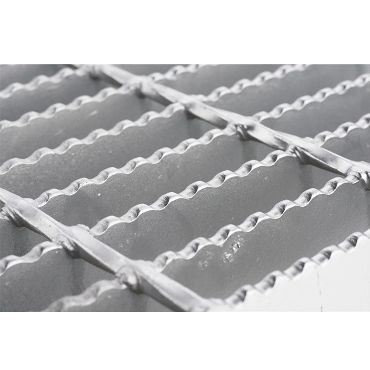Metal+building+materials heavy duty serrated style steel grating production