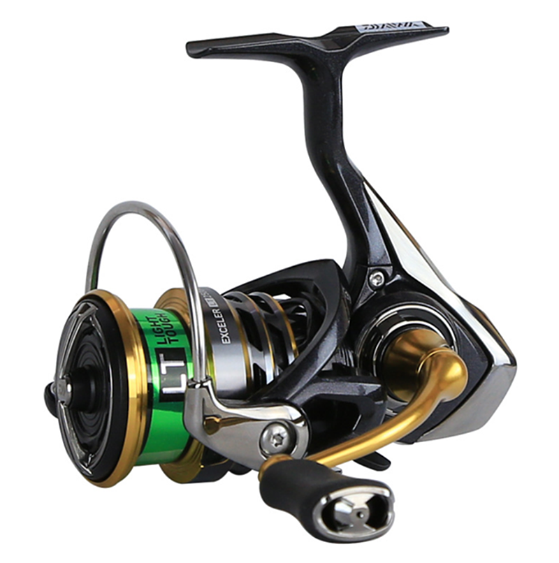 DAIWA EXCELER LT 1000D 2000D 2500 3000C 4000C 5000DC 6000D Spinning Fishing Reel Low Gear Metail Spool Tackle