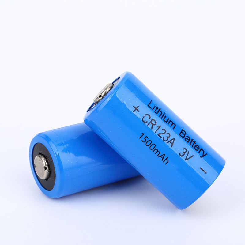 Non Rechargeable Long Life 3V Primary Lithium Battery CR123A for Smoke Detector