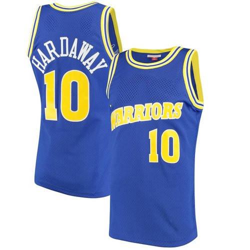 Customizable jerseys Hardaway No. 10 blue retro mesh jerseys with high quality embroidered jerseys GP2023261BK