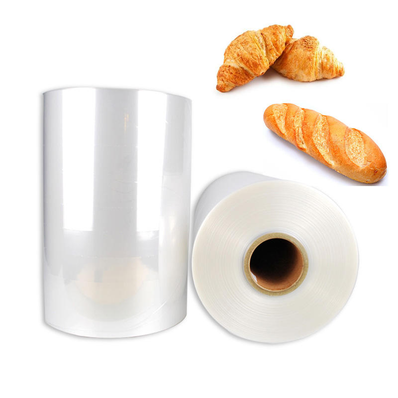 FOOD PACKING plastic POF polyolefin shrink film wrap on sale