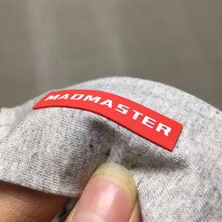 Newest Custom garment 3d silicone logo heat transfer