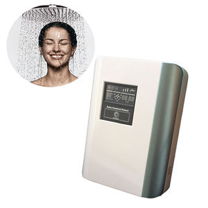 Efisien ozon rumah tangga wall mounted shower filter