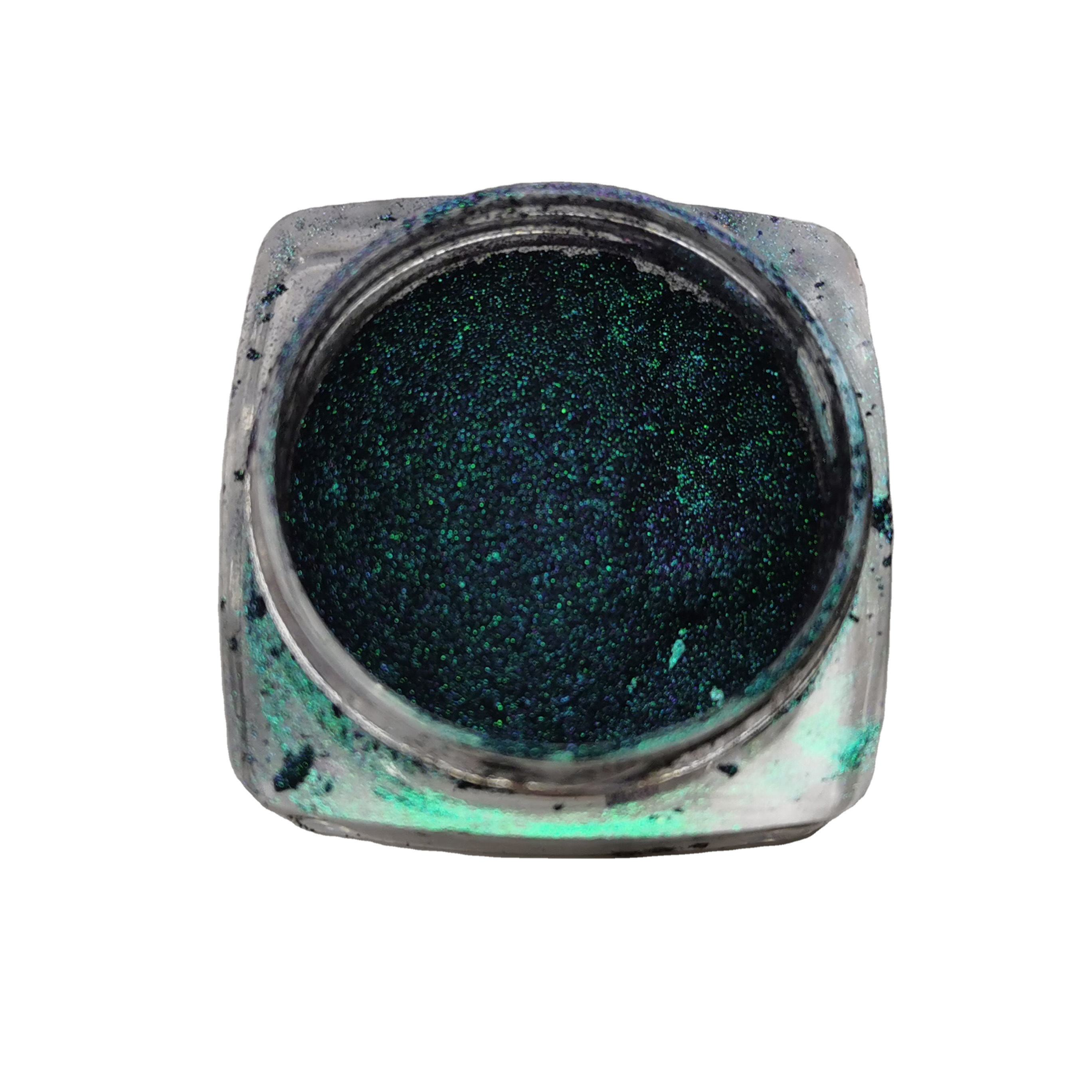 Chameleon pearl pigment flakes color shifting cosmetics glitter flake