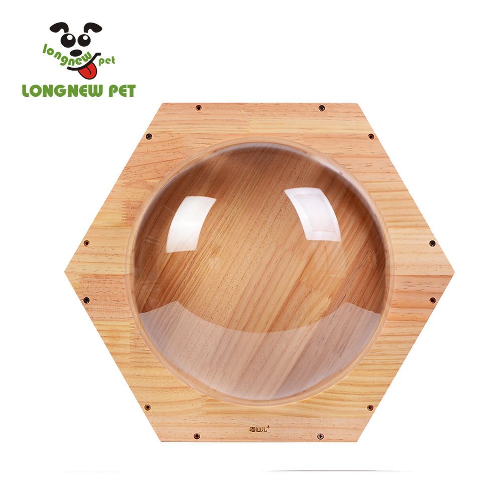 Cat Jumping Platform Space Wooden Cat House Pet Creative Toy Cat Wall Frames