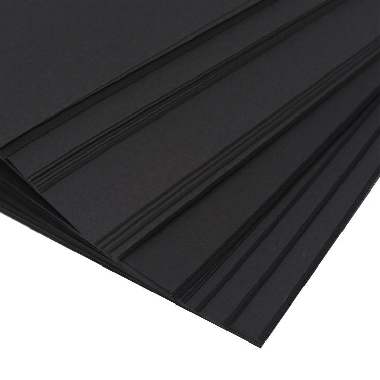 DIY photo album black paper A grade density cardboard pure pulp black board