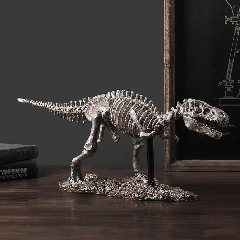 office home Table decoration resin dinosaur bone fossil statue resin craft