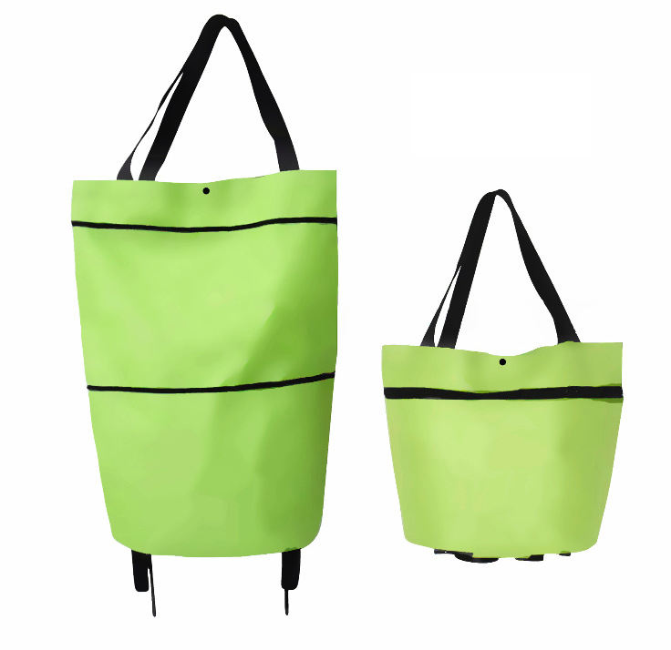 New Creative design Multi-functional Trolley Shopping Cart Foldable Bag Trolley Grocery Bag