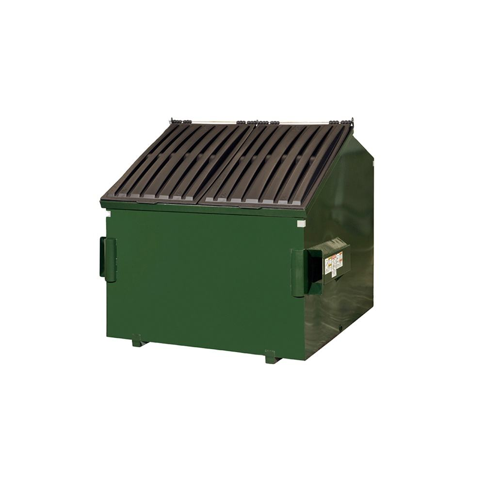 Different Color Sheet Metal Front Load Container Dumpster Assembly Part Customized in China Factory