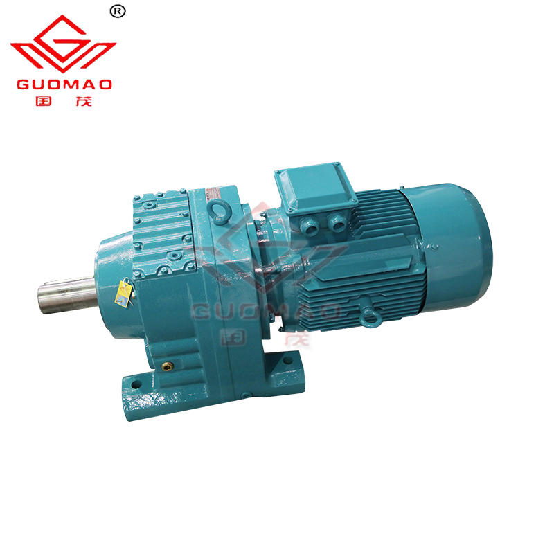 R series gearbox manufacturers GR17 helical gear reduction box