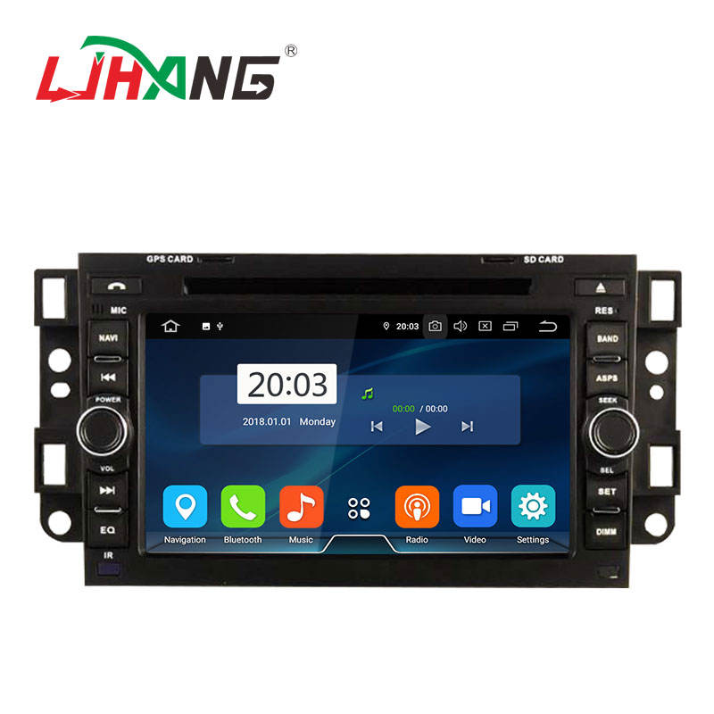 <span class=keywords><strong>Manufactory</strong></span> chinês Android 9.0 sistema 4 + 64G 7 polegadas dvd player do carro para CHEVROLET CAPTIVA (2006- 2011) rádio de carro com 8GB cartão do mapa
